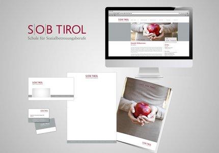 Logo, Geschäftsausstattung und Homepage